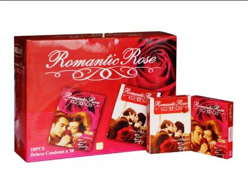 ROMANTIC ROSE  10pcs