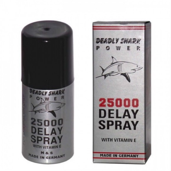 DEADLY SHARK 25000 DELAY SPRAY